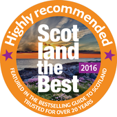 Scotland the Best highly reccomended digtial badge